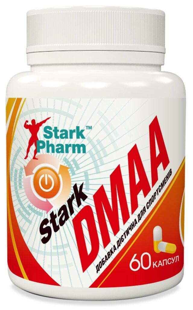 Стимулятор предтренировочный Stark Pharm - D-MAA 50 мг (60 капсул) (экстракт герани)