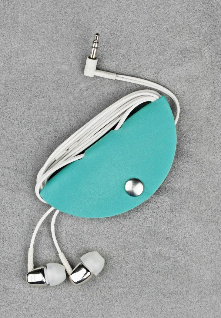 Футляр для навушників з натуральної шкіри