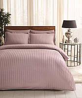Двуспальное евро постельное белье TAC Place Lilac Сатин-Жаккард (картонная коробка)
