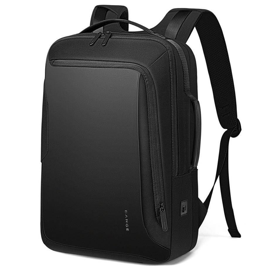 """Классический деловой рюкзак Bange BG-S51, с USB портом, тремя отделениями, для ноутбука до 15,6"""", 22л"""