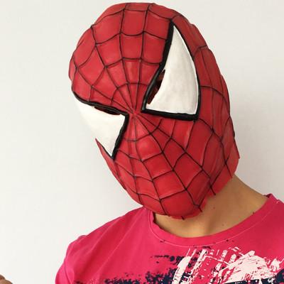 """Маска латексна """"Людина Павук"""" на Хелловін, Маска резиновая """"Человек Паук"""" на хэллоуин"""