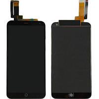 Дисплей для мобильного телефона Meizu M1 Mini / черный / с тачскрином