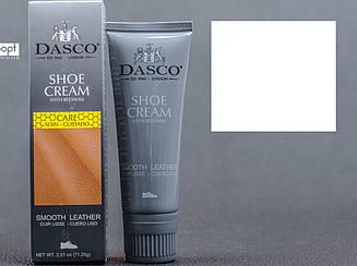 Крем-краска для обуви  DASCO Leather Cream, цв. белый (101), 75 мл