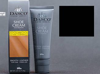 Крем-краска для обуви  DASCO Leather Cream, цв. чёрный (102), 75 мл