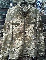 Куртки флисовые форменные светлый пиксель, 44 р и др