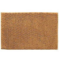 Коврик для ванной микрофибра прорезиненная основа 50х80 см бежевый (44102.002)