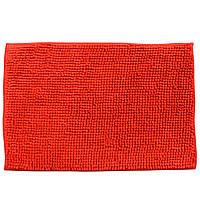 Коврик для ванной микрофибра прорезиненная основа 40х60 см красный (44102.003)