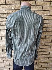 Рубашка мужская коттоновая  брендовая высокого качества ONLINE, Турция, фото 2