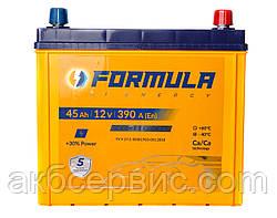Акумулятор автомобільний Formula 6СТ-45 АзЕ Asia