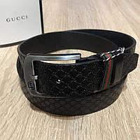 Кожаный Ремень Gucci Черный