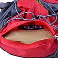 Рюкзак туристический Onepolar W1702-red красный 45 л, фото 10