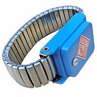 Антистатичний браслет WS-201C металевий