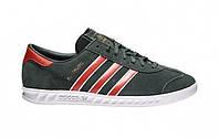Оригинальные кроссовки Adidas Hamburg Green/Red (Art. S79990)