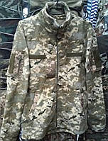 Куртки флисовые форменные светлый пиксель, 60 р и др