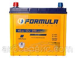 Акумулятор автомобільний Formula 6СТ-45 Аз Asia