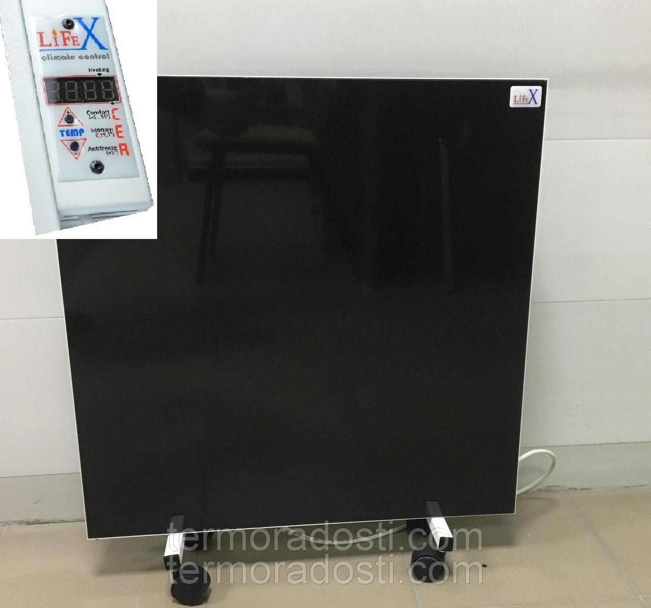 Напольный керамический обогреватель LIFEX Double Floor ПКП800 (черный)