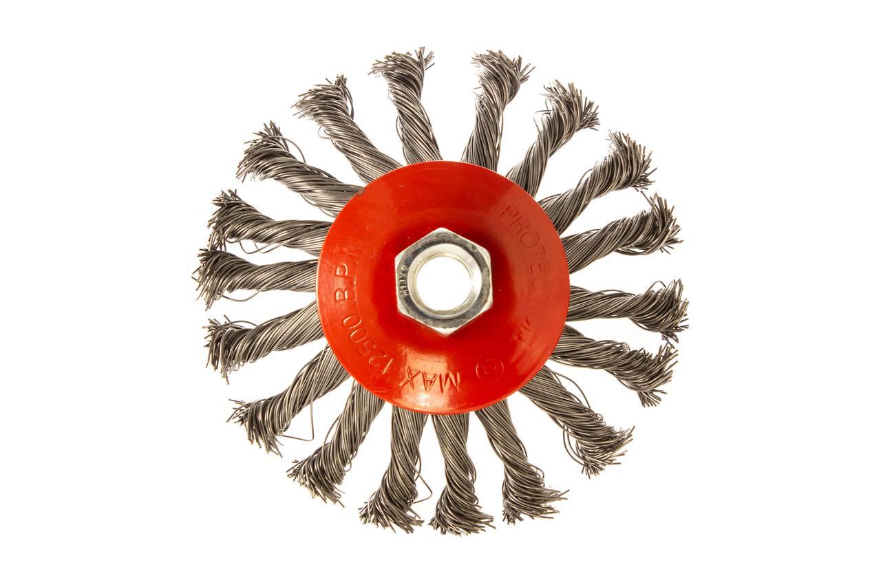 Щітка конусна з плетеного дроту D115 M14