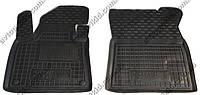 Полиуретановые коврики в салон Citroen C4 Picasso 2014->, 2 шт. (Avto-Gumm)