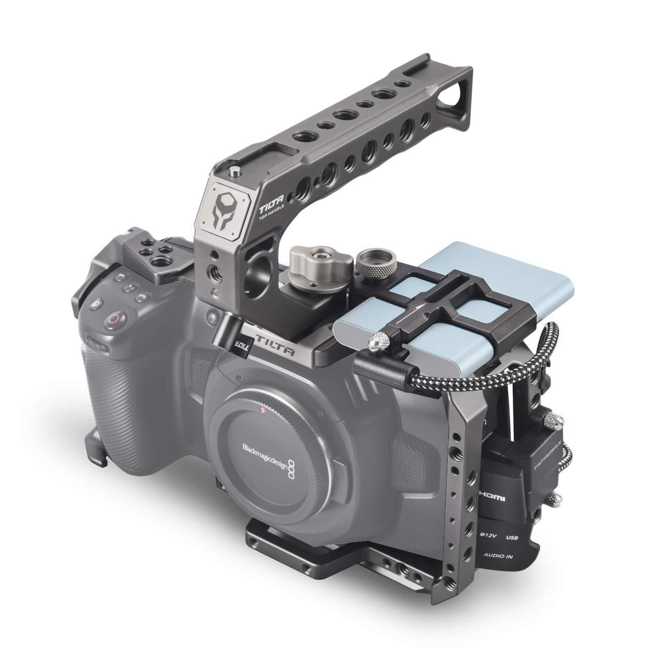 Кейдж Tilta Camera Cage for Blackmagic Design Pocket Cinema Camera 4K/6K (Basic Kit, Black / Gray) (TA-T01-B)