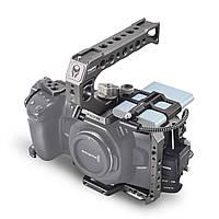 Кейдж Tilta Camera Cage for Blackmagic Design Pocket Cinema Camera 4K/6K (Basic Kit, Black / Gray) (TA-T01-B), фото 1