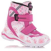 Зимние сапоги на липучках  для девочек Tofino 5.4.340 (21-36)