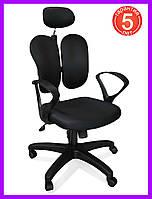 Компьютерное кресло Mealux Deluxe-Duo Plus Y-558 KBG, фото 1