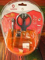 Набір настільний Optima 9 предметів, обертається на 360, помаранчовий