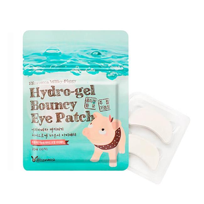 Elizavecca Гидрогелевые патчи для глаз с коллагеном 20 шт Milky Piggy Pure Hydro-Gel Bouncy Eye Patch