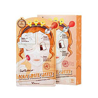 Elizavecca Витаминная увлажнающая и осветляющая маска для лица Aqua White Water Illuminate Mask