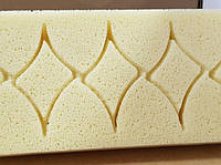 """ART 3667      Губка для уборки эпоксидной затирки 27х13х3 см (нарезанная """"рыбка""""))"""