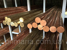 Пруток (круг) бронзовый БрОЦС 5-5-5 Ф55мм