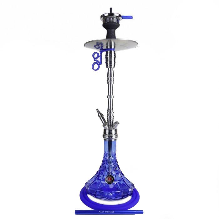 Кальян AMY Deluxe SS 20.01 Trilliant высота 80 см на 1 персону синий