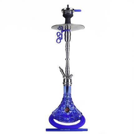 Кальян AMY Deluxe SS 20.01 Trilliant высота 80 см на 1 персону синий, фото 2