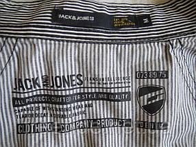 Фирменная стильная рубашка Jack & Jones (M), фото 3