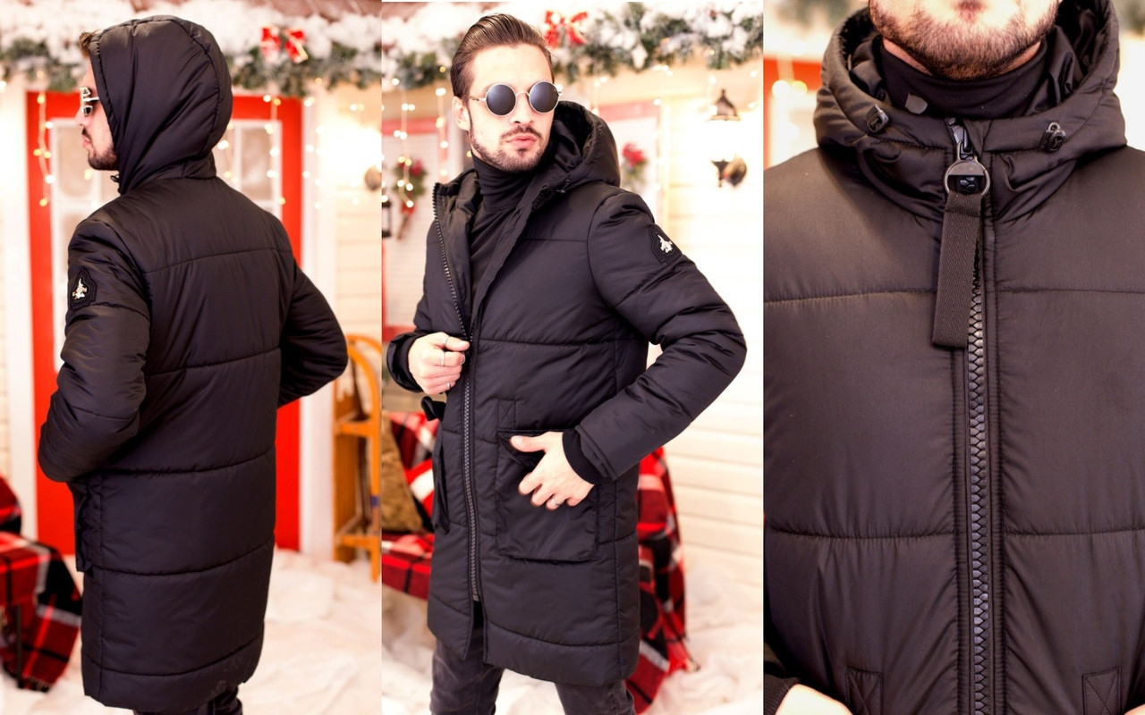 Пальто мужское на синтепоне  мод.1111