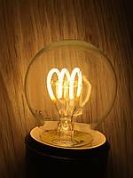 Прозрачная лампочка 2Вт Е27 G45, 2700К Filament Flex