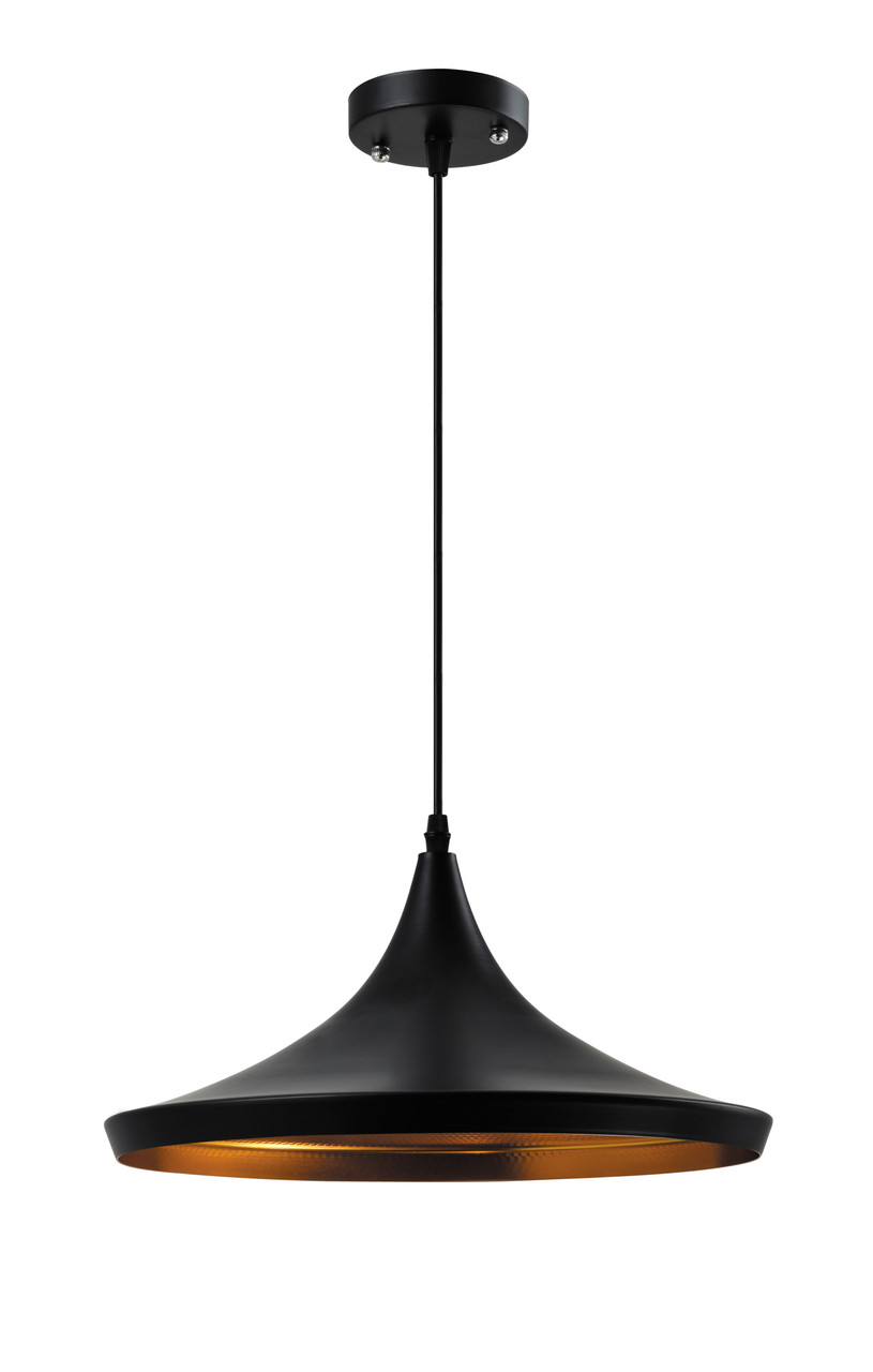 Світильник стельовий дізайнерський OSCAR 9036 BLACK 60W E27 IP20 (2шт/ящ) TM LUMANO