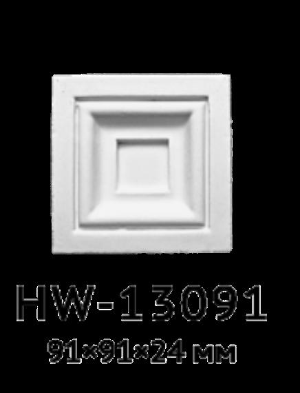 Квадрат Classic Home HW-13091, лепной декор из полиуретана