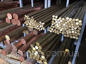 Пруток (круг) бронзовый БрОЦС 5-5-5 Ф70мм