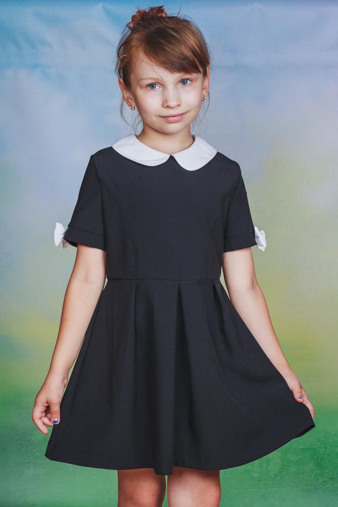 Школьный сарафан для девочки черный