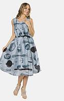 Женское голубое платье MR520 MR 229 2874 0219 Dusty Blue