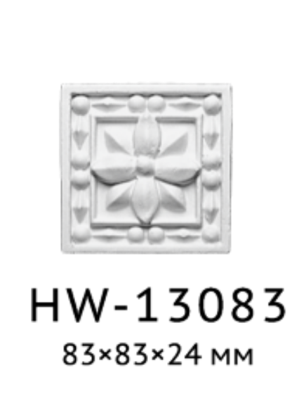 Квадрат Classic Home HW-13083, лепной декор из полиуретана