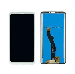 Дисплей (экран) для Meizu M8 Lite з сенсором (тачскріном) белый Оригинал, фото 2