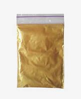 Пигмент перламутр золото 500 г (10-60 мкм)