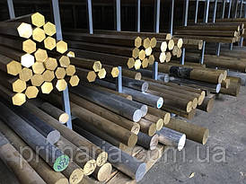 Пруток (круг) бронзовый БрОЦС 5-5-5 Ф100мм