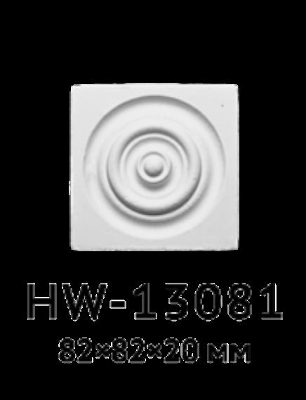 Квадрат Classic Home HW-13081, лепной декор из полиуретана