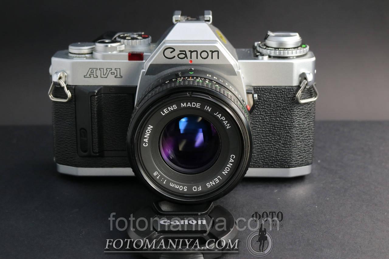 Canon AV-1 kit Canon nFD 50mm f1.8