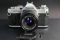 Canon AV-1 kit Canon nFD 50mm f1.8, фото 1