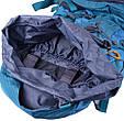 Туристический походный рюкзак 60-70 л. Onepolar W1632-biruza, фото 7