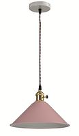 Світильник стельовий PINK MONTAIN STYLE рожевий 60 E27 (Скандинавський стиль) (10шт/ящ) TM LUMANO